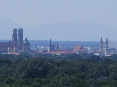 München - von weitem sieht es hübsch entfernt aus!