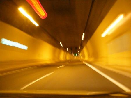 langer, langer Tunnel